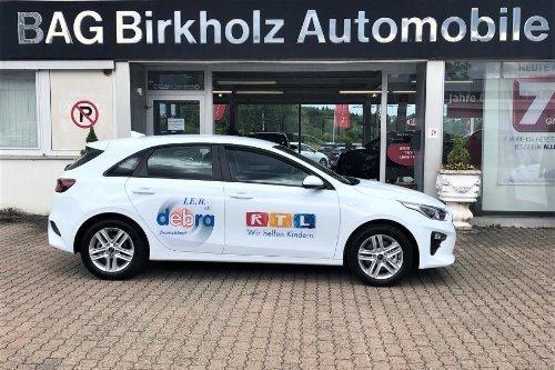 Auto für die mobile Wundschwester der Interessengemeinschaft Epidermolysis Bullosa e.V. DEBRA Deutschland