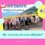 35 Jahre IEB DEBRA Deutschland – Wir sind stolz auf unsere Mitglieder!