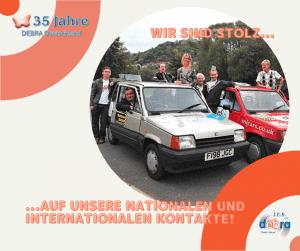 Read more about the article 35 Jahre IEB DEBRA Deutschland – Wir sind stolz auf unsere nationalen und internationalen Kontakte