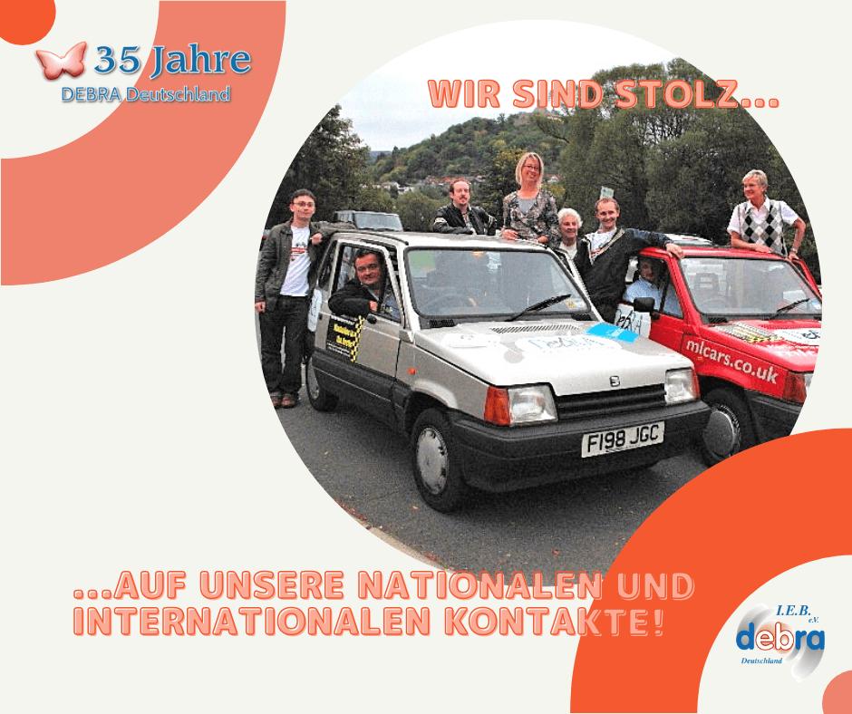 35 Jahre IEB DEBRA Deutschland – Wir sind stolz auf unsere nationalen und internationalen Kontakte