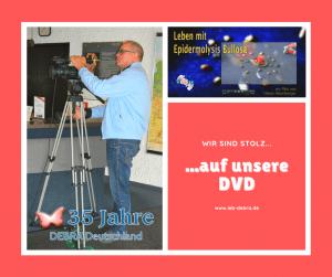 35 Jahre IEB DEBRA Deutschland – Wir sind stolz auf unsere DVD