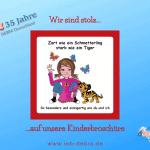 35 Jahre IEB DEBRA Deutschland – Wir sind stolz auf unsere Kinderbroschüre